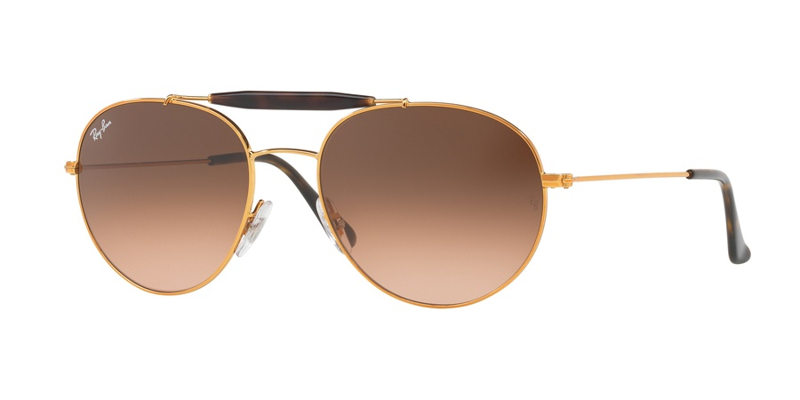 Ray Ban 0RB3540 9001A556 Gold/Brown