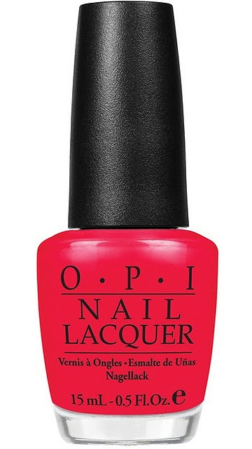 OPI Red Lights Ahead...Where? 15ml