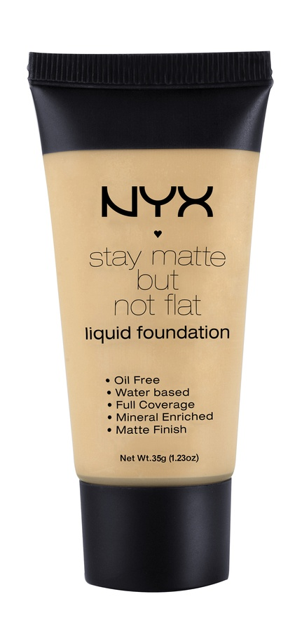 NYX Prof. Makeup Stay Matte But Not Flat Liquid Foundation Naturel 35ml SMF03