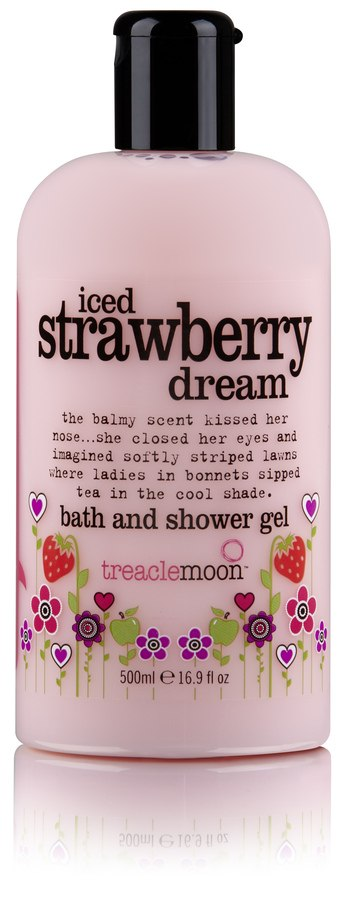 Treacle Moon Iced Strawberry Dream Bath And Shower Gel 500ml