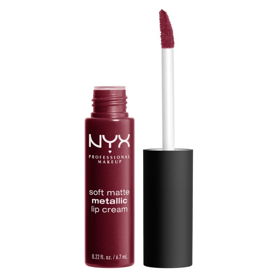 NYX Professional Makeup Soft Matte Metallic Lip Cream Copenhagen