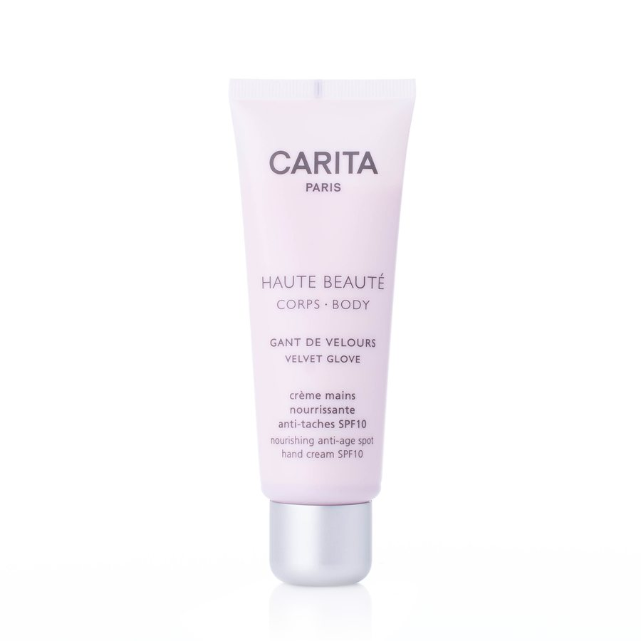 Carita Haute Beautè Corps Body Nourishing Anti- Age Spot Hand Cream SPF10 75ml