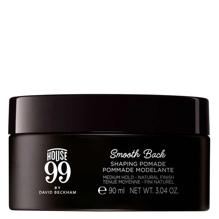 House 99 by David Beckham Smooth Back Shaping Pomade 100ml