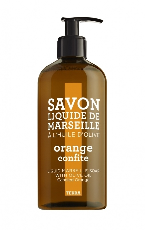 Compagnie De Provence Terra Collection Liquid Soap Candied Orange 500ml