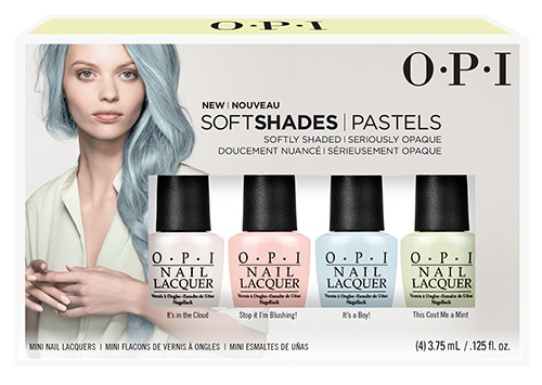OPI Soft Shade Pastels Mini 4 Pack  DDS33