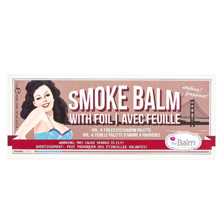 The Balm Smoke Balm Vol. 4 7,2g