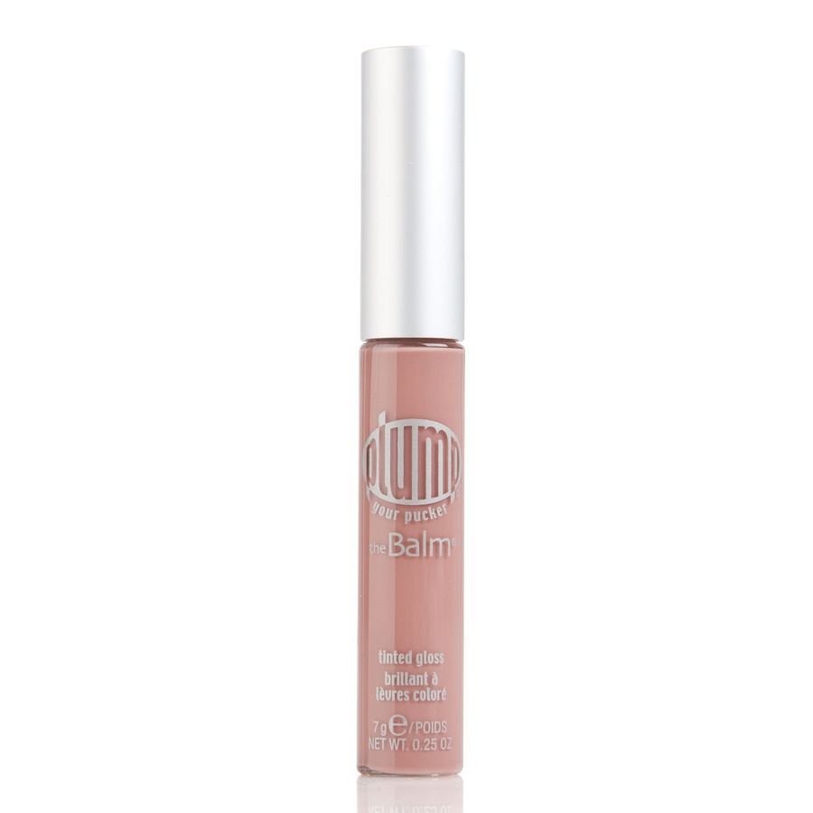 The Balm Plump Your Pucker Tinted Lip Gloss Cocoa My Coconut