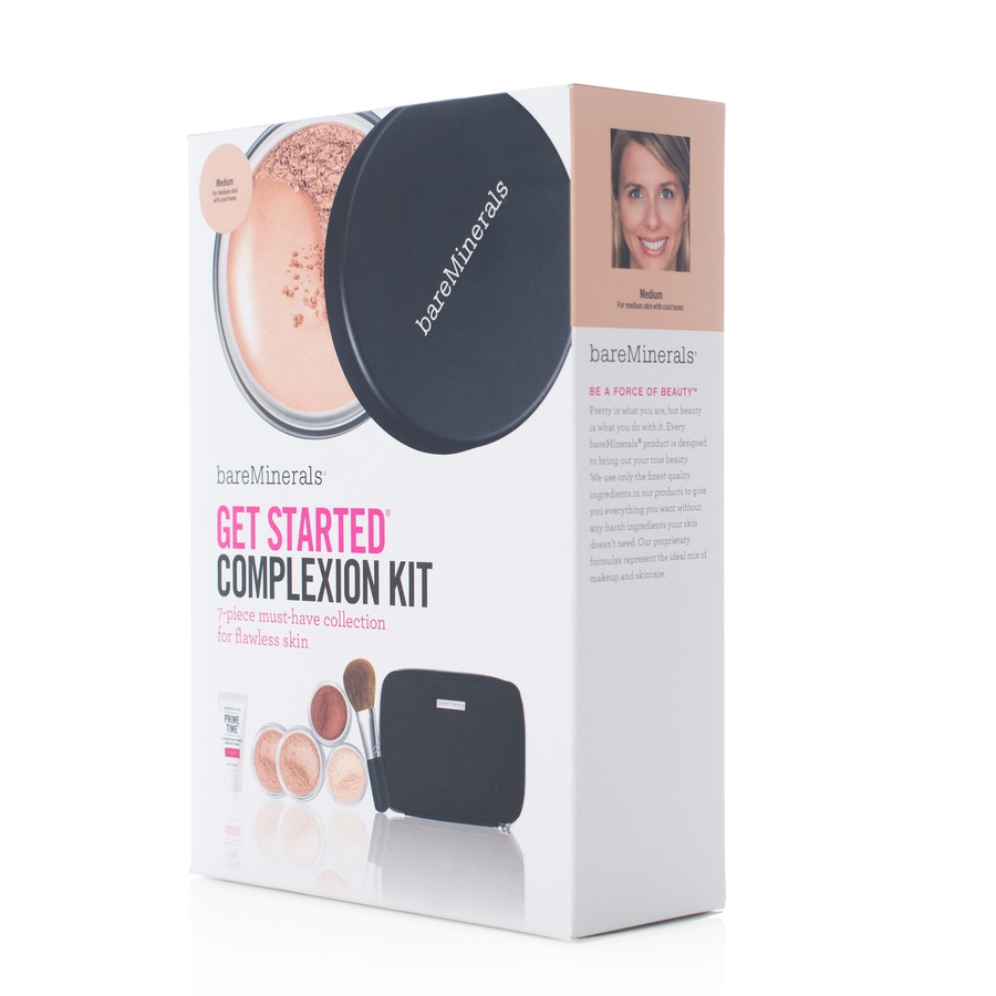 BareMinerals Get Started Complexion Kit 7 Deler Medium