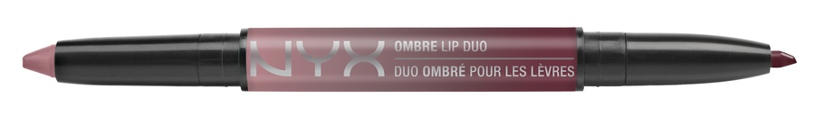 NYX Ombre Lip Duo Lipstick & Lipliner Old10 Rags & Riches