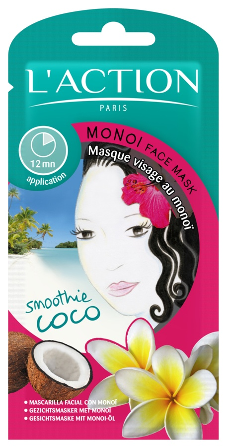 L'Action Paris Monoi Face Mask 14g