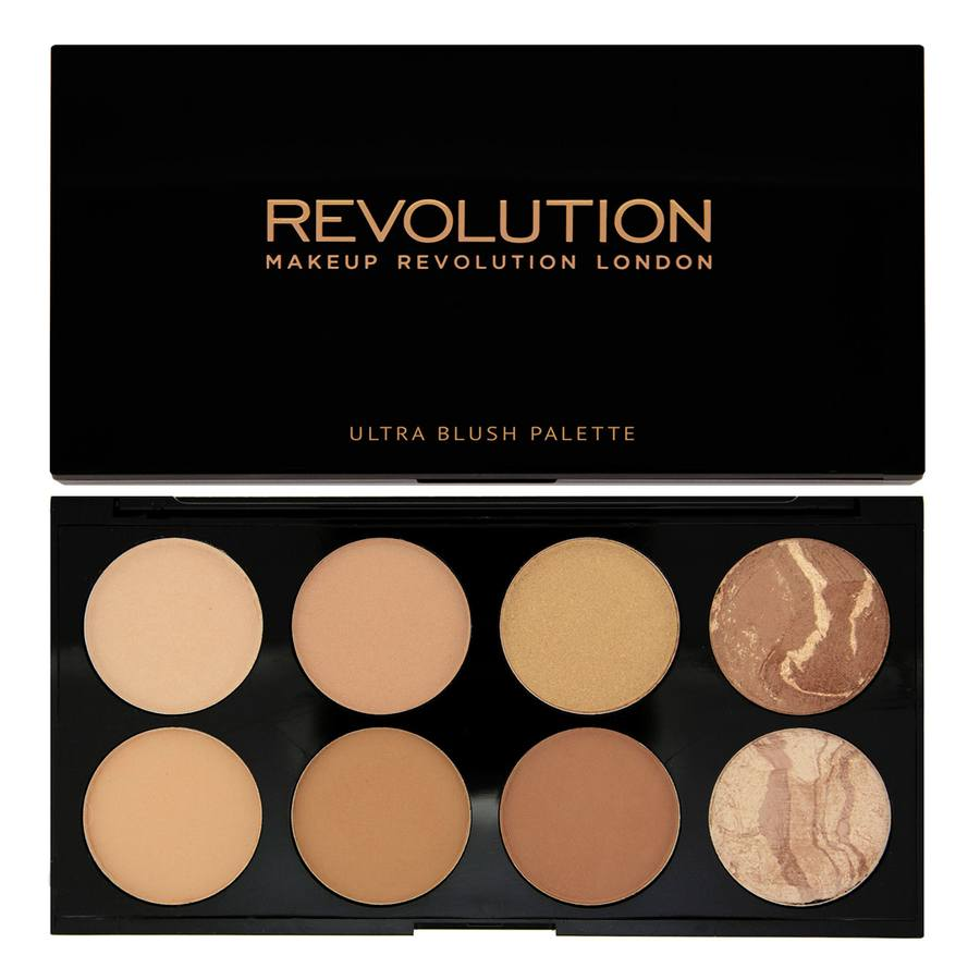 Makeup Revolution Blush & Contour Palette All about Bronzed 13g