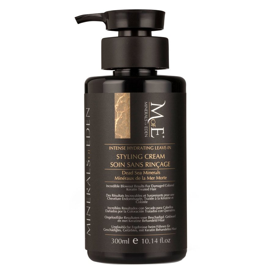 Minerals of Eden Instant Revive Styling Cream Dead Sea Mud & Minerals 300ml