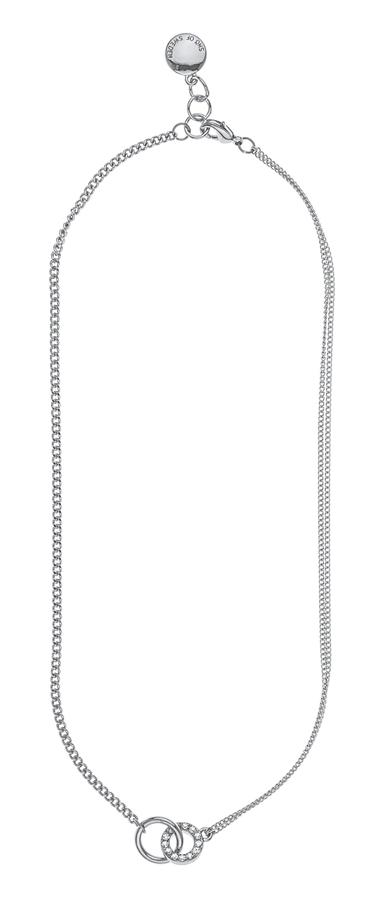 Snö Of Sweden Blizz Chain Necklace Clear 42cm