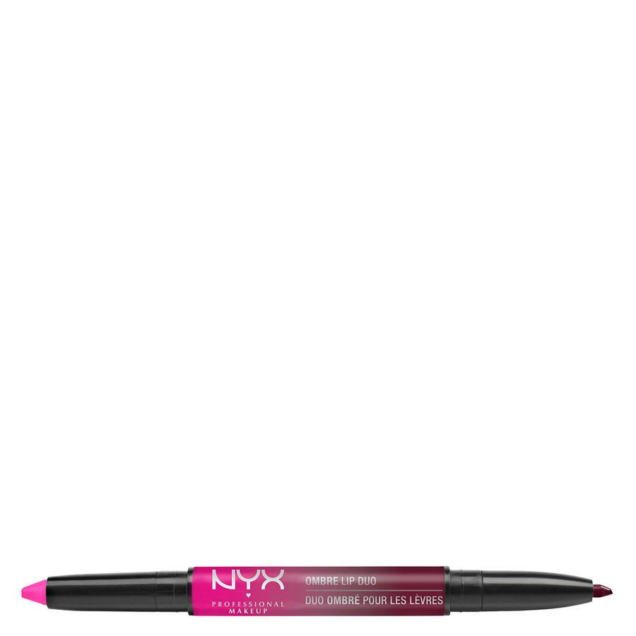 NYX Prof. Makeup Ombre Lip Duo Lipstick & Lipliner Old11 Hollywood & Wine