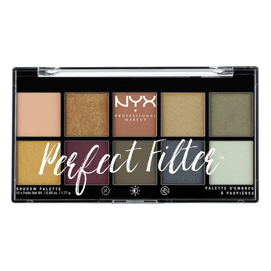 NYX Professional Makeup Perfect Filter Shadow Palette - Olive You