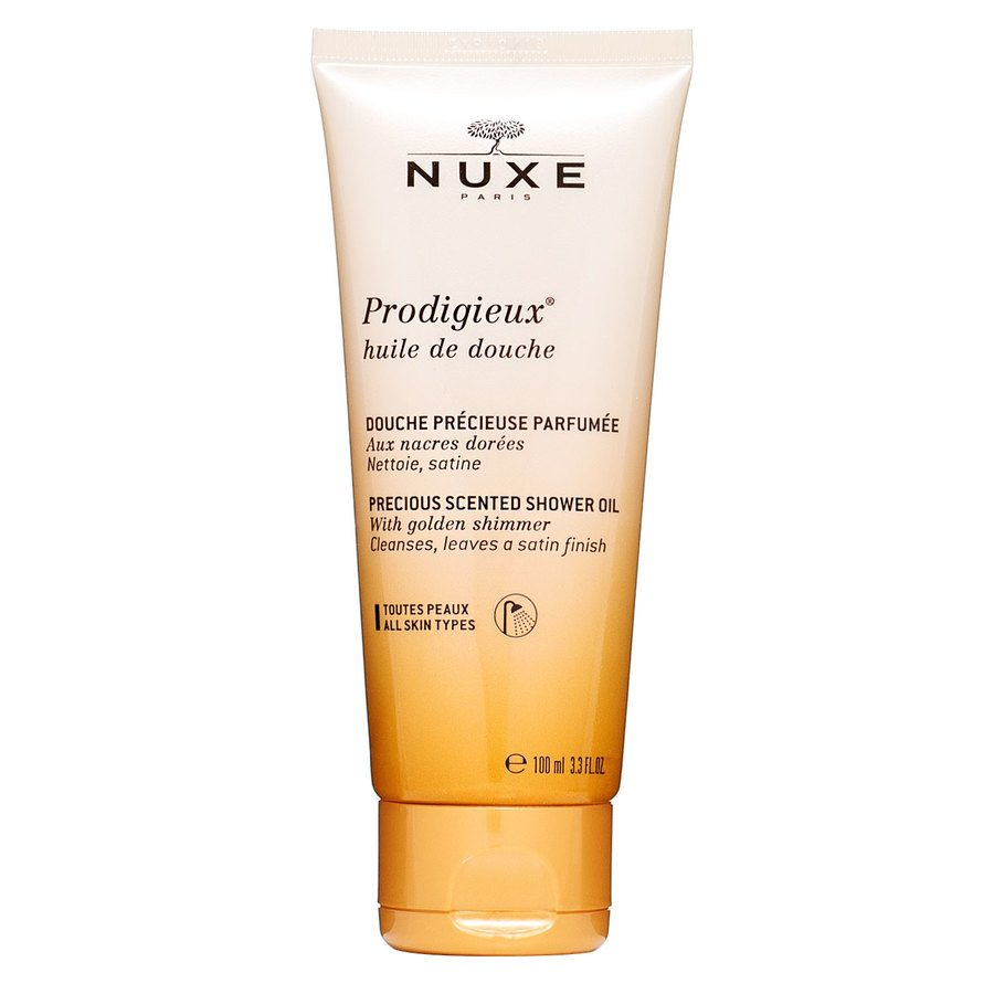 Nuxe Prodigieux Precious Scented Shower Oil Golden Shimmer 100ml