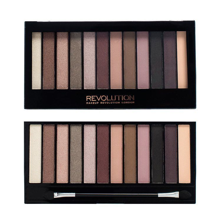 Makeup Revolution Redemption Palette Romantic Smoked 14g