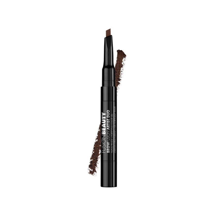 Fusion Beauty BrowFusion Artist Duo Filling Pencil + Color Gel #Brunette 2,9g
