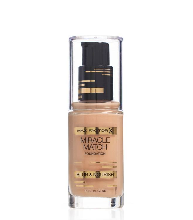 Max Factor Miracle Match Foundation Rose Beige 065