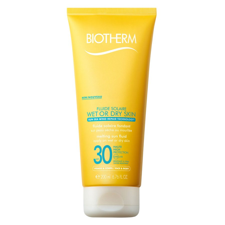 Biotherm Fluide Solaire Wet Or Dry Skin Melting Sun Fluid SPF30 200ml
