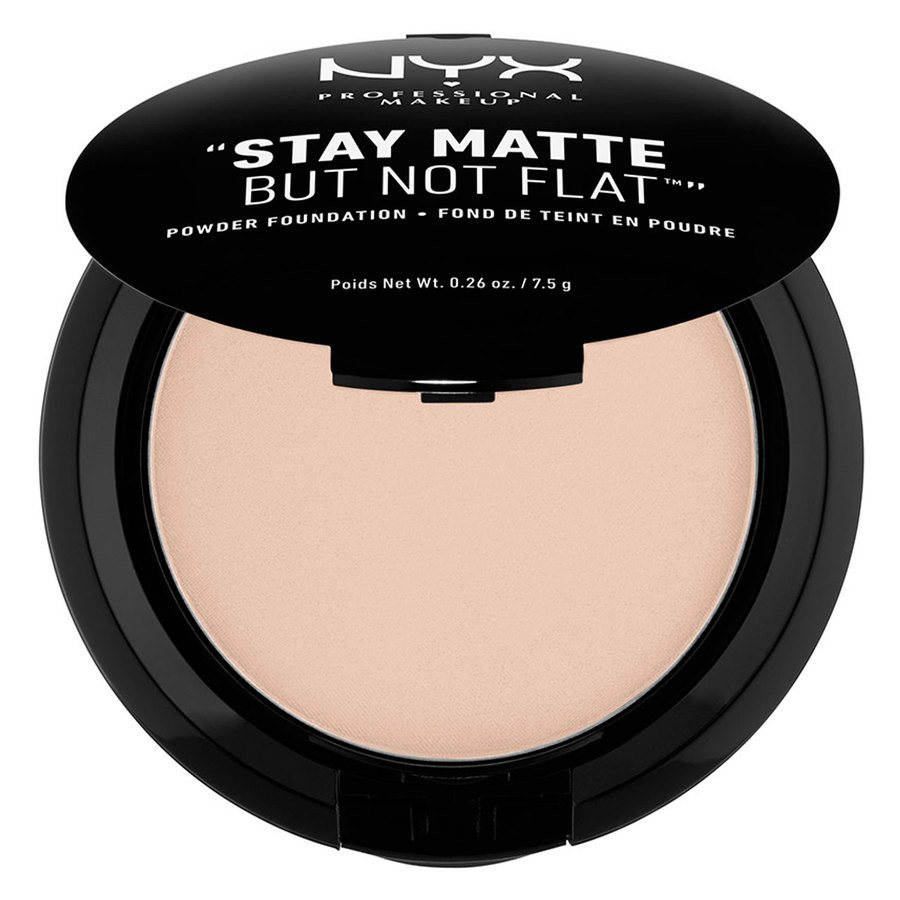 NYX Prof. Makeup Stay Matte But Not Flat Powder Foundation Creamy Natural SMP04