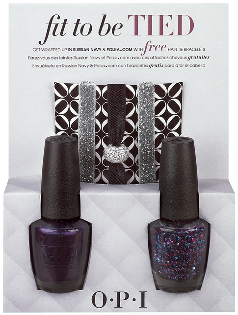 OPI Mariah Carey Holiday Collesction – Fit To Be Tied Duo Russian Navy & Polka.com 2 x 15ml
