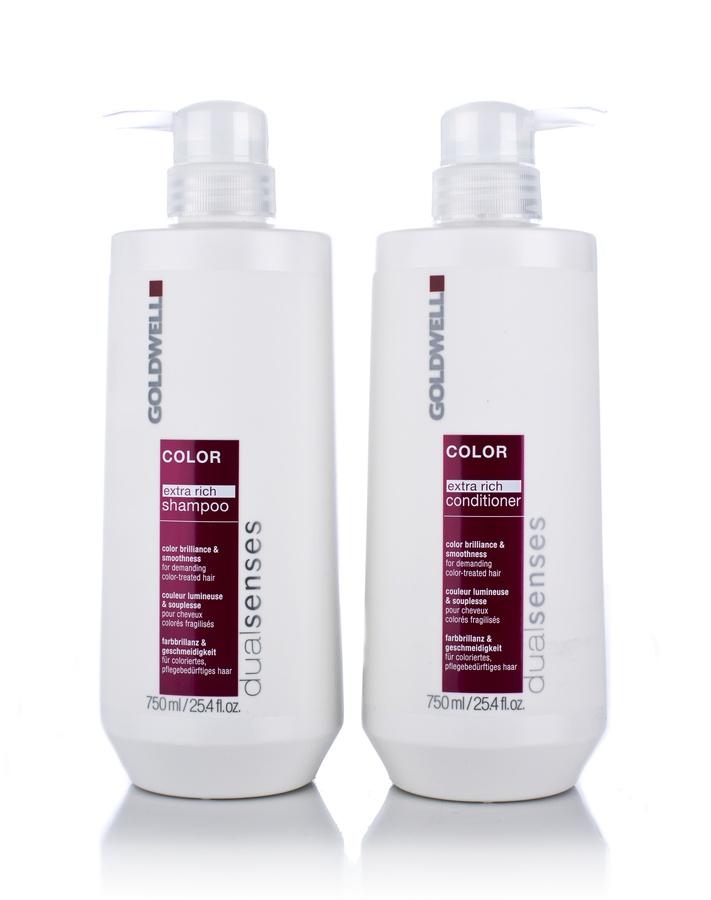 Goldwell Dualsenses Color Extra Rich Tween Duos Shampoo og Balsam 2x750ml