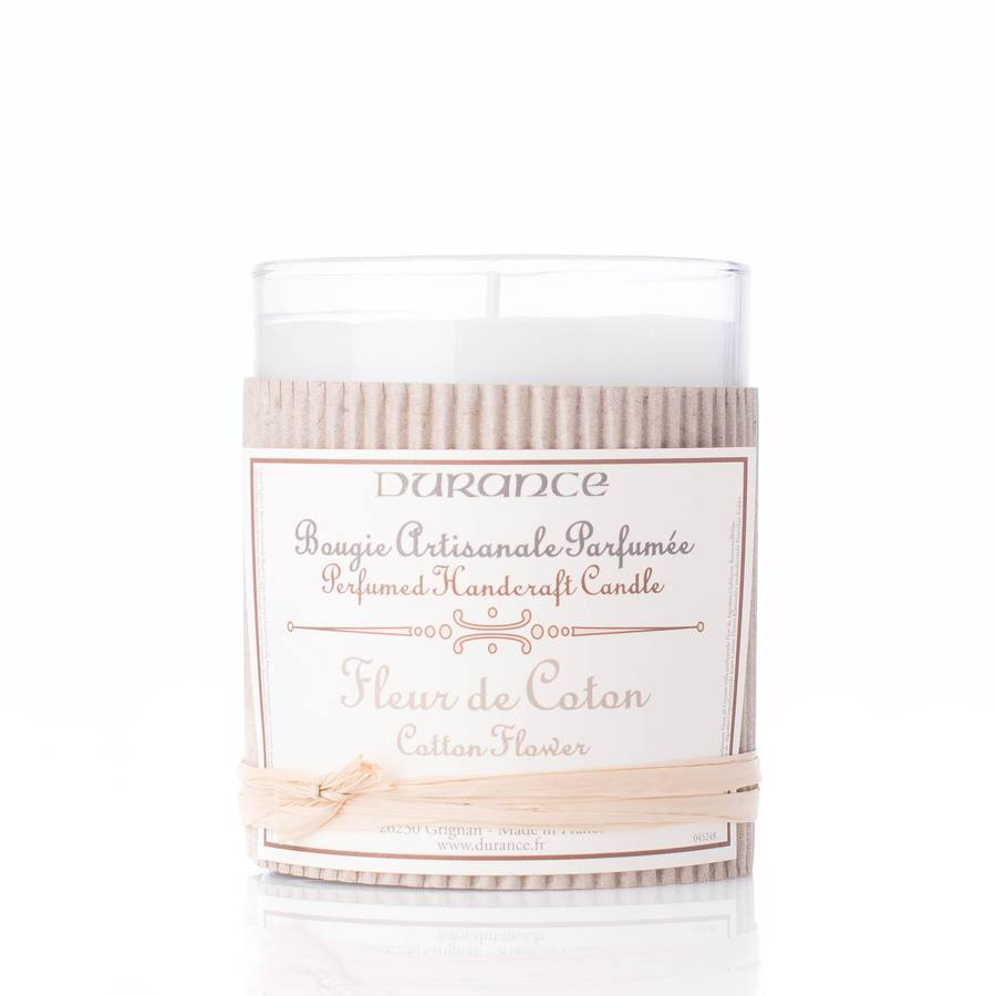 Durance Perfumed Handcraft Candle Cotton Flower
