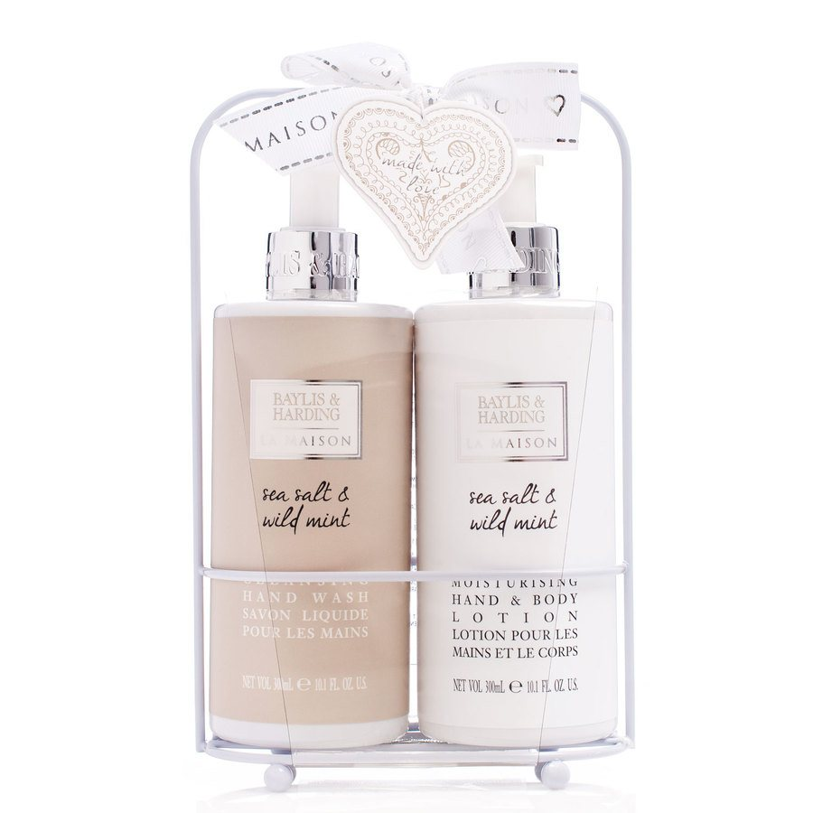 Baylis & Harding Hand Wash & Hand & Body Lotion Sea Salt & Wild Mint