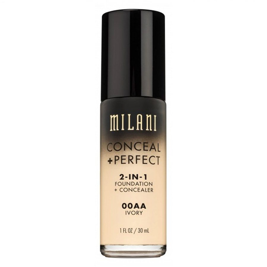 Milani Conceal & Perfect 2 In 1 Foundation + Concealer Ivory 30ml