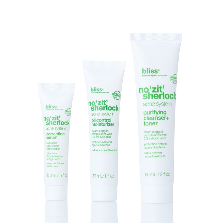 Bliss Kit: No 'Zit' Sherlock Complete Acne System