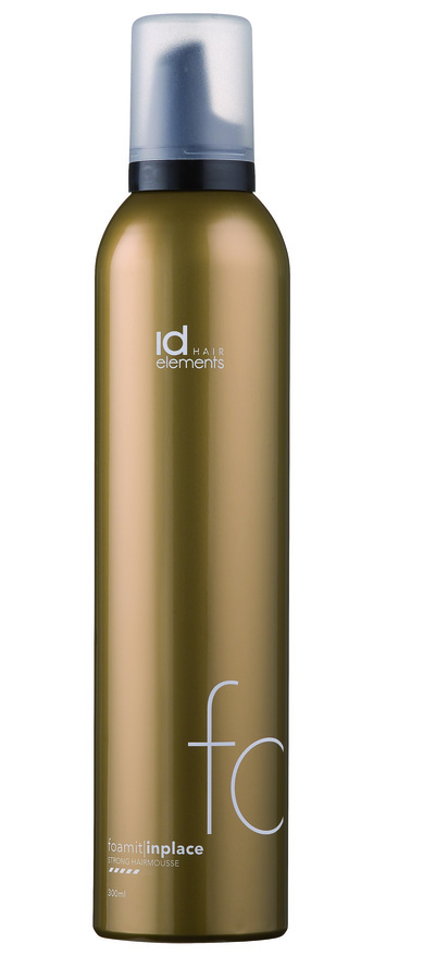 Id Hair Gold Foam It Hair Mousse Strong 300ml