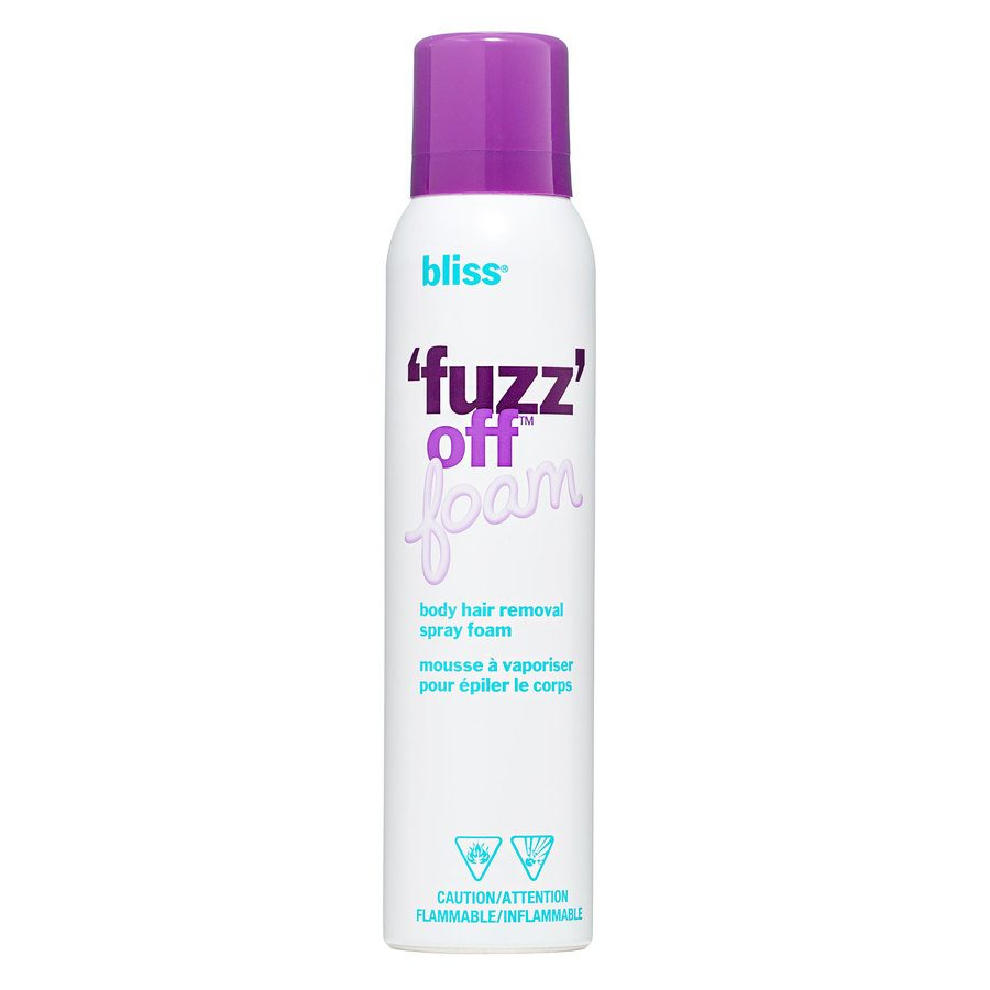Bliss 'Fuzz' Off Foam Body Hair Removal Spray Foam 155g