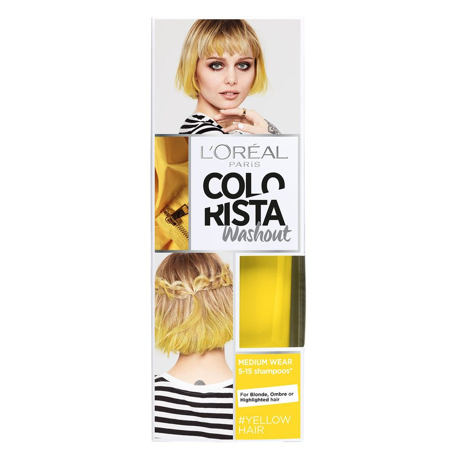 L'Oréal Paris Colorista 2 Weeks Wash Out 18 Yellow 80ml