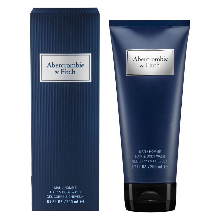 Abercrombie & Fitch Blue Men Hair And Body Wash 200ml