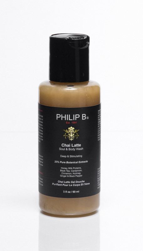 Philip B Chai Latte Soul & Body Wash	60 ml