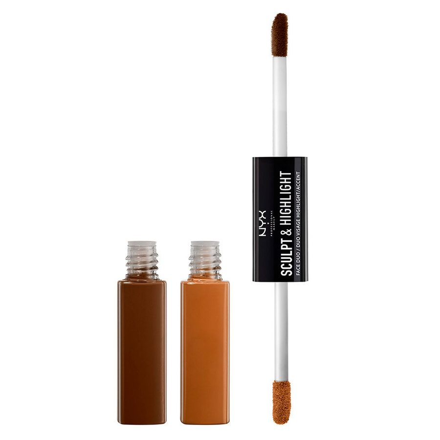 NYX Prof. Makeup Sculpt & Highlight Face Duo Espresso/Honey