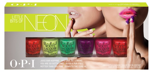 OPI Little Bits Of Neon 6 x 3,75ml