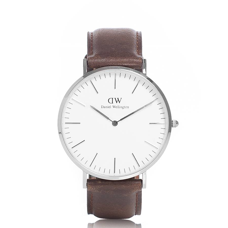 Daniel Wellington Bristol Silver 36mm DW00100056