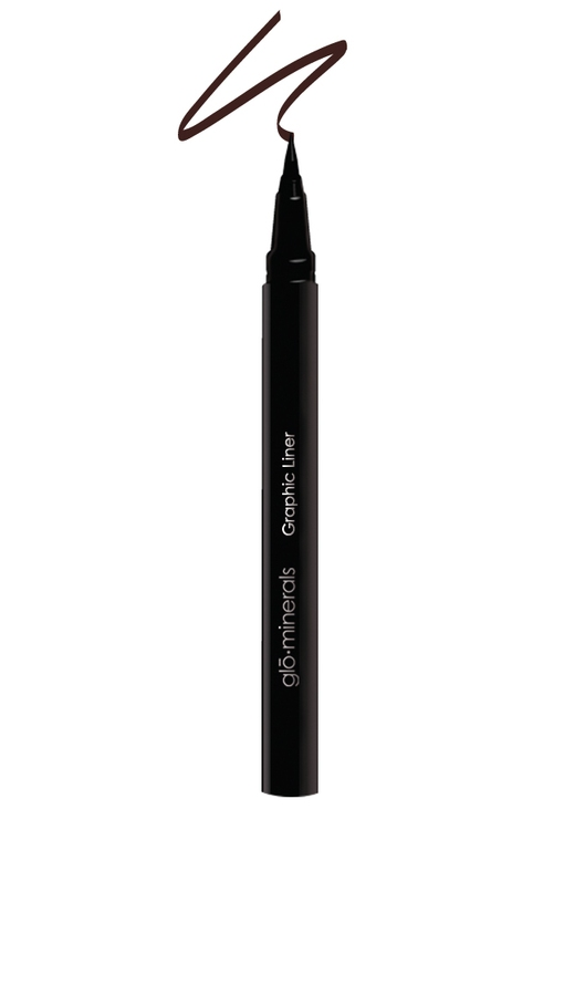 glóMinerals Cream And Liquid Eyeliner Graphic Liner Black/Brown