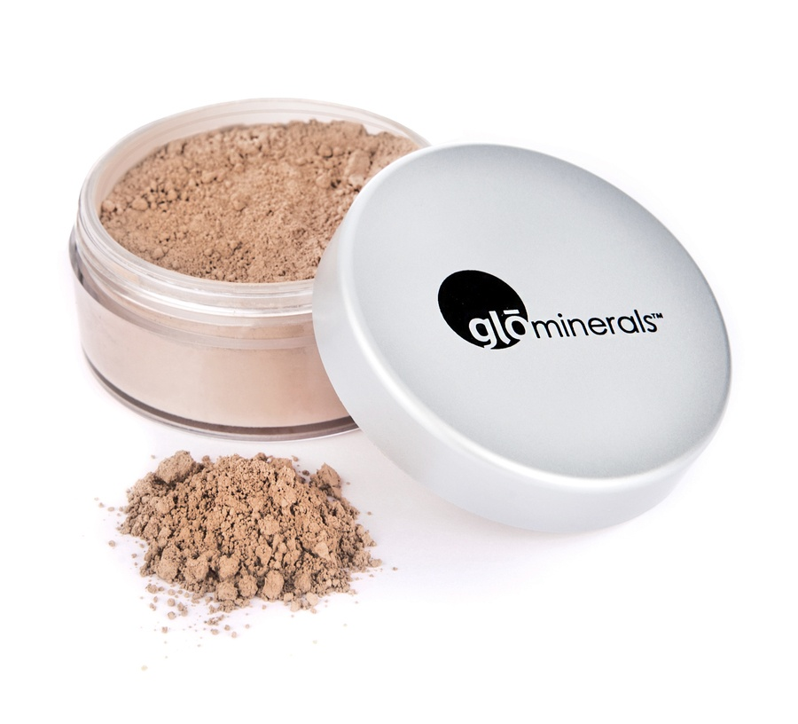 glóMinerals gloLoose Base Powder Foundation Honey Medium 10,5g