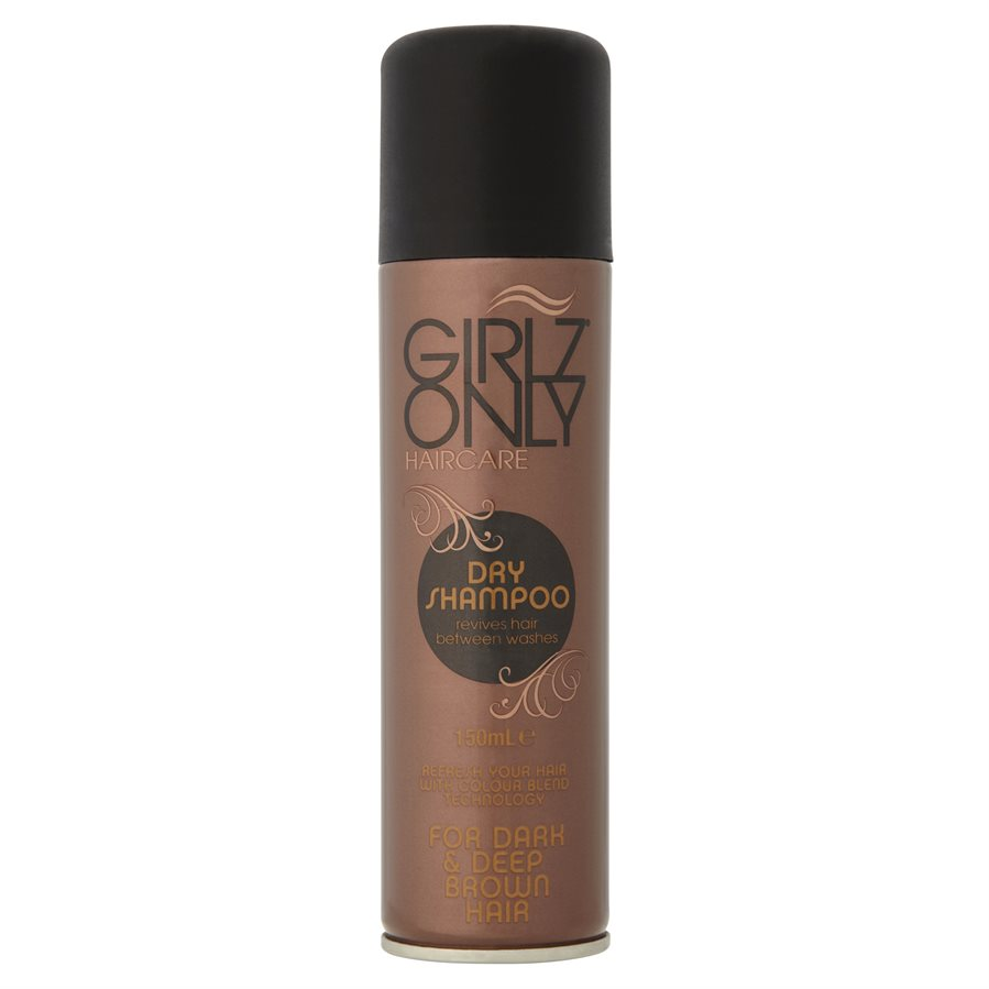 Girlz Only Dry Shampoo Brown 150ml
