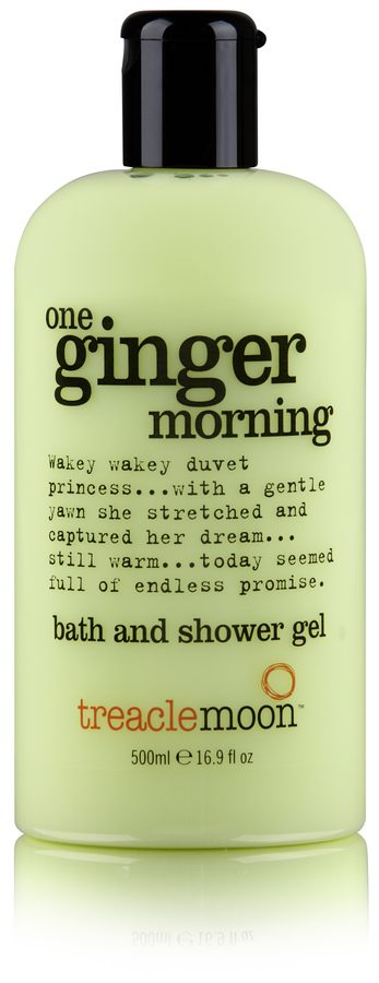 Treacle Moon Ginger Morning Bath And Shower Gel 500ml