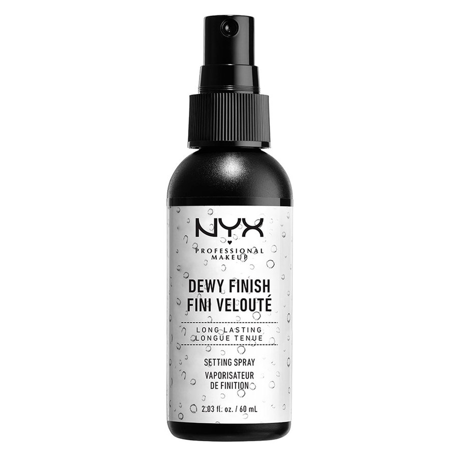 NYX Prof. Makeup Dewy Finish Long Lasting Make-Up Setting Spray Dewy Finish MSS02
