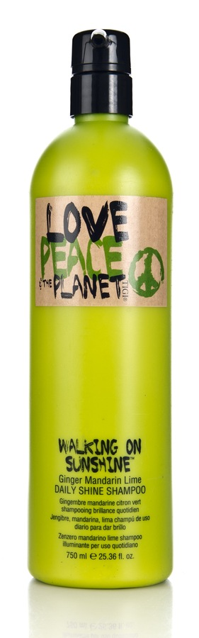 Tigi Love Peace & The Planet Walking On Sunshine Daily Shine Shampoo 750ml