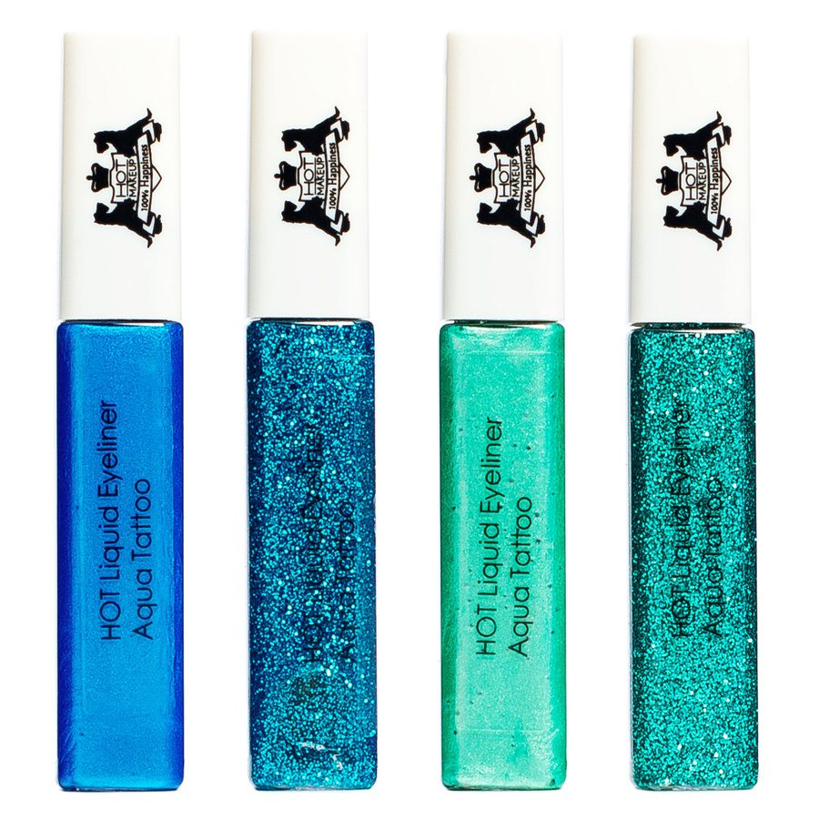 Hot Makeup Liquid Eyeliner Aqua Tattoo Green/Turquise