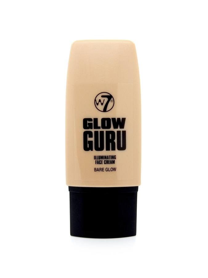 W7 Glow Guru Illuminating Face Cream Bare Glow 35ml