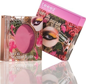 Teeez Trend Cosmetics La Isla Chique Collection Soft as Sin Cream Blush Flirty Pink