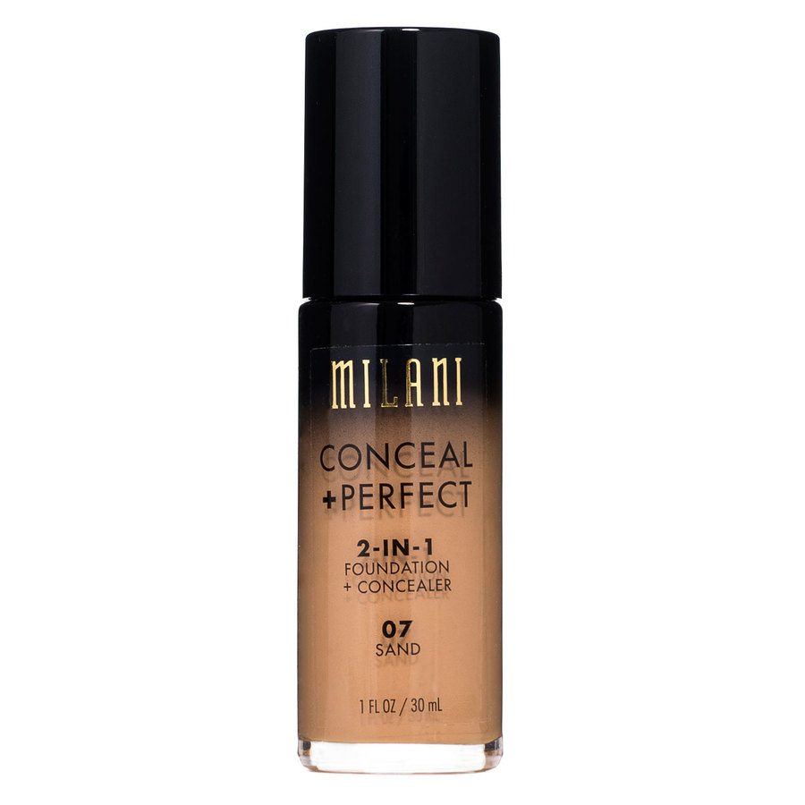 Milani Conceal & Perfect 2 In 1 Foundation + Concealer Sand 30ml