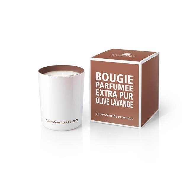 Compagnie De Provence Scented Candle oliv Lavendel 180 g